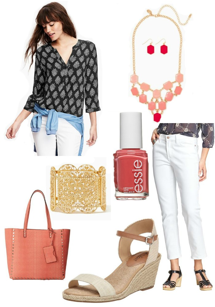 Spring Fashion - Coral Infusion