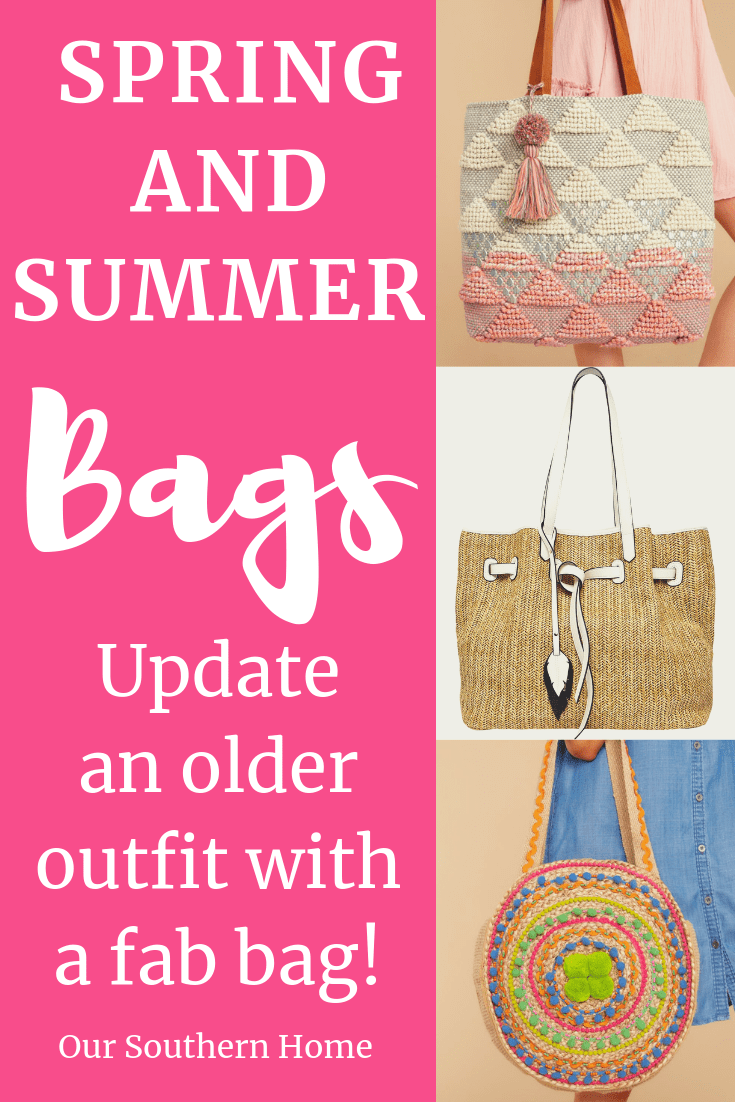 Five Bags to Create a Spring Look