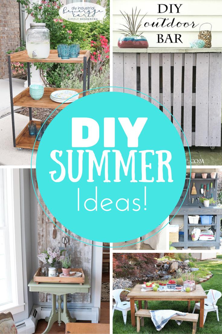 Summer DIY Ideas DIY Summer Entertaining Projects