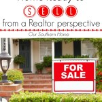 Tips for getting your home ready for sale from a Realtor perspective via Our Southern Home