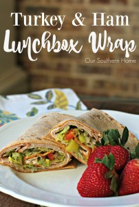 Turkey and Ham Lunchbox Wrap