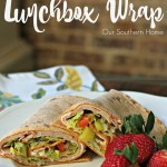 Turkey and Ham Lunchbox Wrap Recipe/#ad #HillshireFarmNaturals/ www.oursouthernhomesc.com