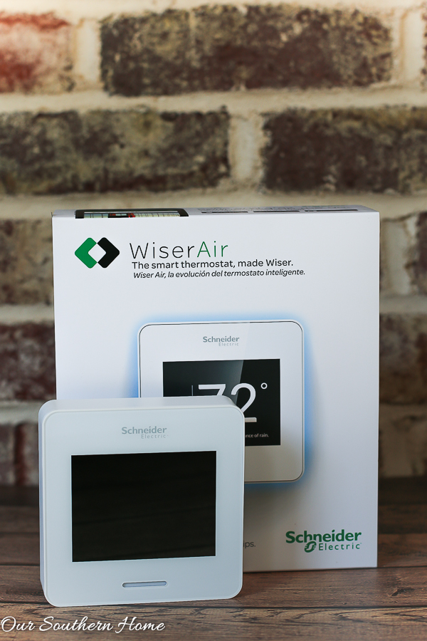 Wiser Air™ Wi-fi Smart Thermostat review by Our Southern Home #ad #wiserair