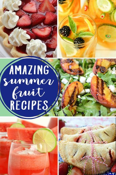 Amazing summer fruit recipes are the features from this week's Inspiration Monday link party! Join us each week for inspiration for the home!
