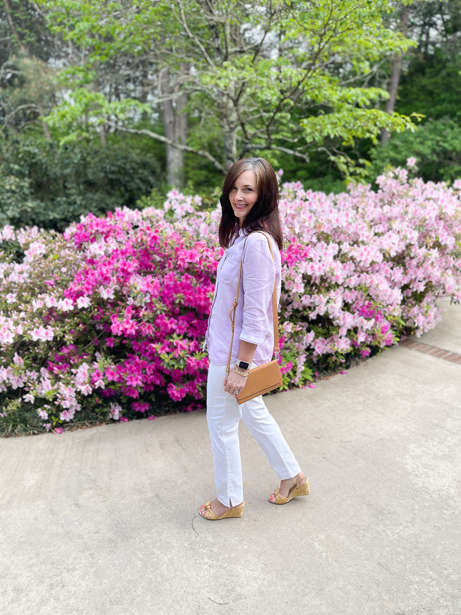 linen look for spring