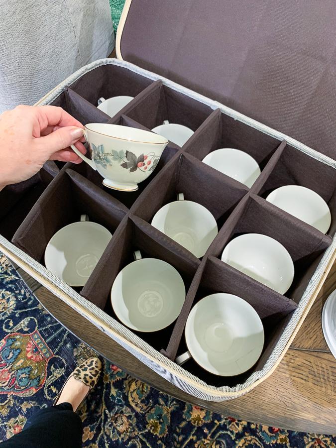mug storage crate