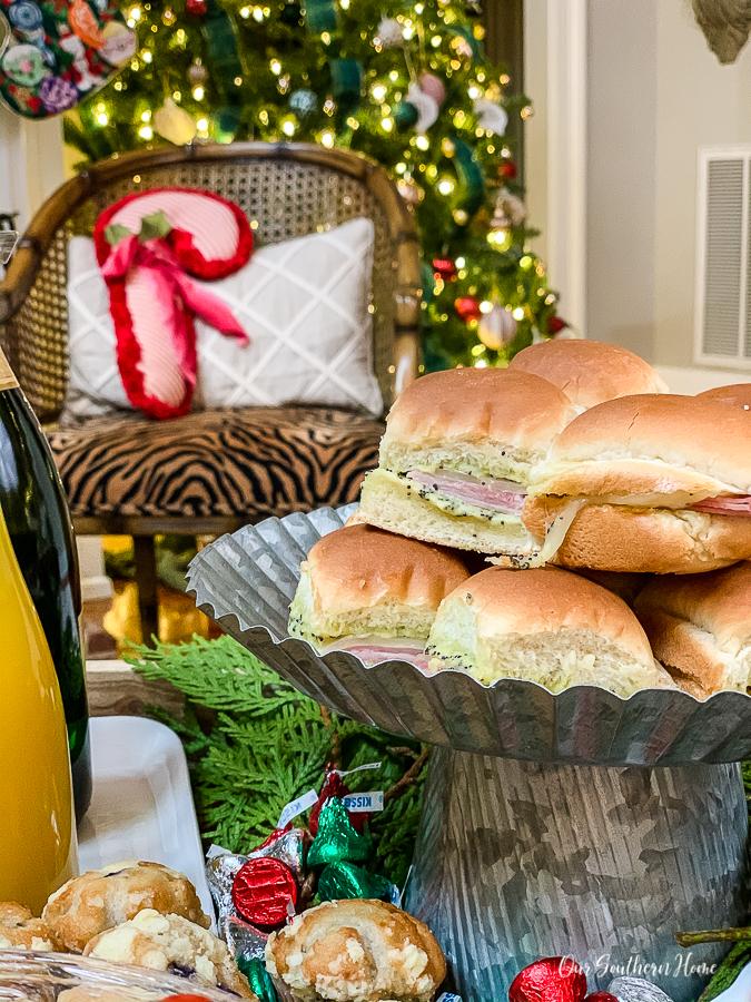 Ham Delight Sandwiches