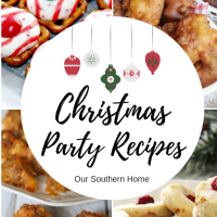Christmas Party Foods and Cookies