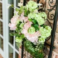 Cottage Wire Basket Wreath