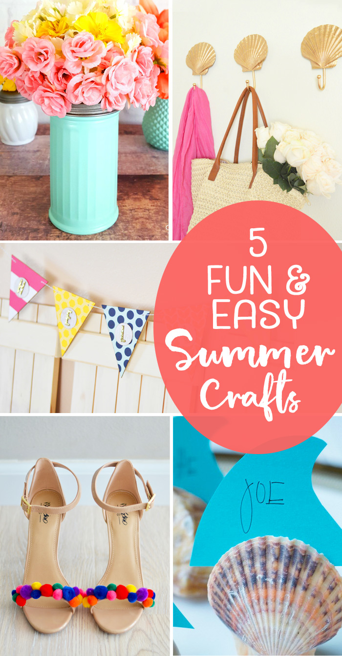 5 Fun and Easy Summer Crafts
