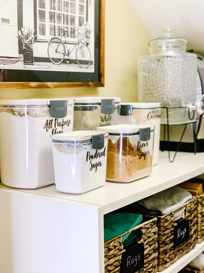 baking supply containers