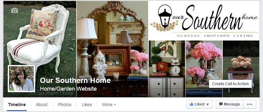 Follow Our Southern Home on Facebook!