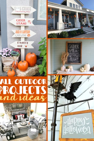 Fall Outdoor Ideas and Projects