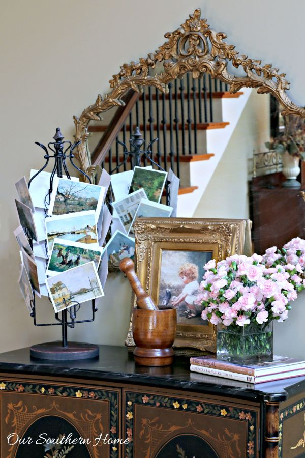 Eiffel Card Rack is a versatile piece for your home from Decor Steals styled by Our Southern Home #ad
