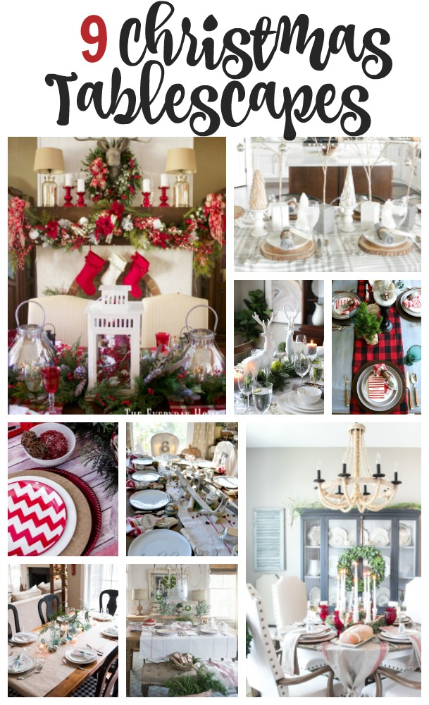 Nine Christmas Tablescape Ideas Our Southern Home