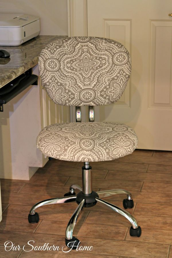 office hack. office chair hack tutorial with simple upholstery make the workspace more comfortable and stylish by our u