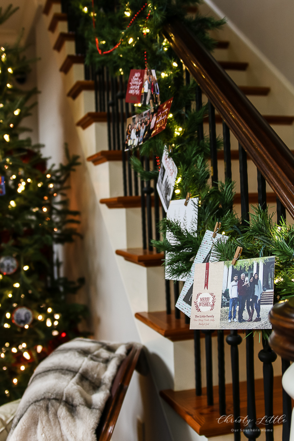 cards on garland