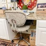 desk chair at a desk