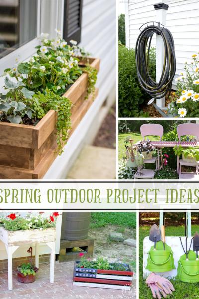 Spring Outdoor Project ideas