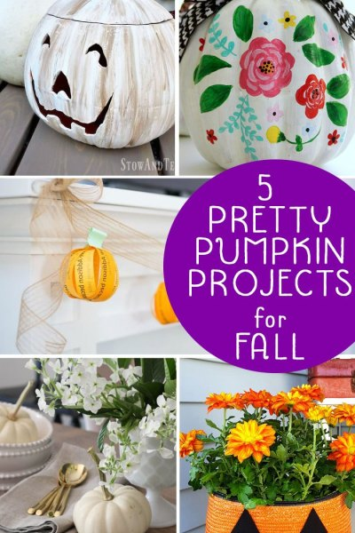 5 Pretty Pumpkin Projects