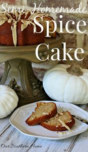 Semi-Homemade Spice Cake