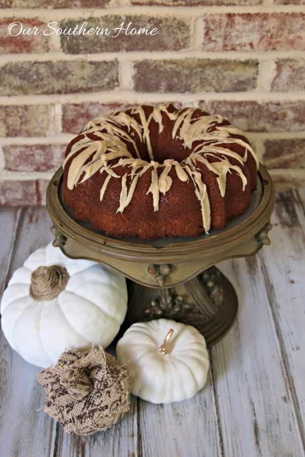 Get ready for fall with Semi-Homemade Spice Cake from Our Southern Home