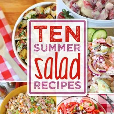 Ten Summer Salad Recipes