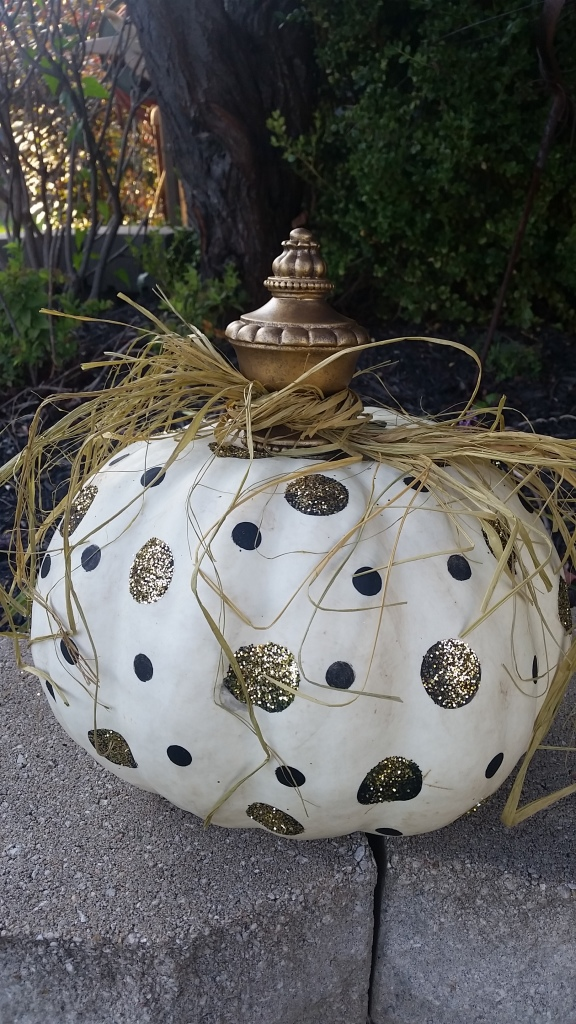the fanciest pumpkin around