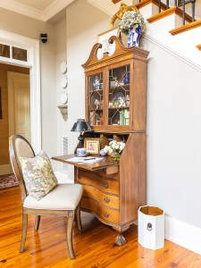 desk with french country touches