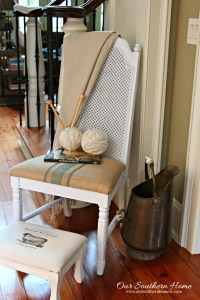 Thrift Store Chair Makeover {Take 2}