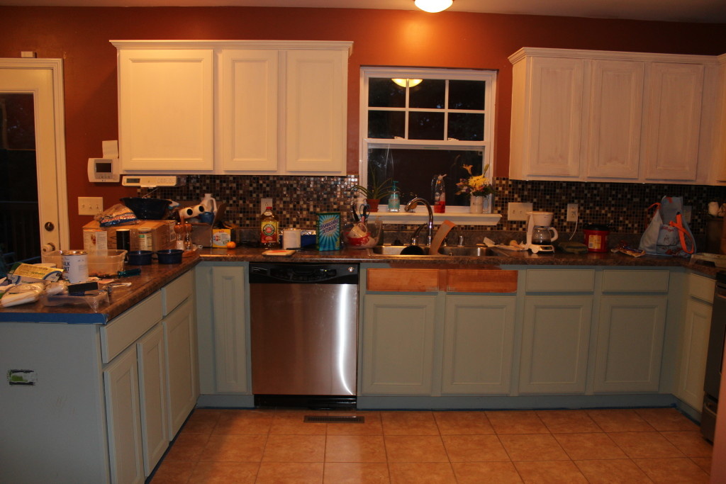 Chalk Painted Kitchen Cabinets 2 Years Later • Our Storied Home