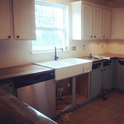 Ikea Kitchen Countertop Remodel App A Brutally Honest Review Of Butcher Block Countertops Our Installing The Farm Sink And