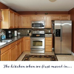 Ikea Kitchen Countertop Cabinets Diy A Brutally Honest Review Of Butcher Block Countertops Our Storied Home Before Makeover