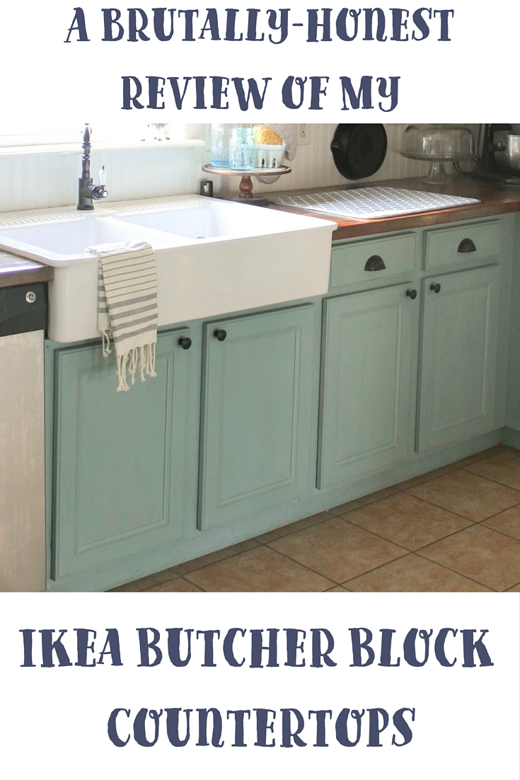 ikea kitchen countertops roll out cabinet a brutally honest review of butcher block our countertop