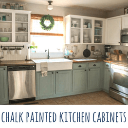 Chalk Painted Kitchen Cabinets Two Years Later • Our Storied Home