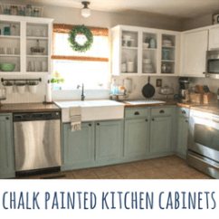 Repaint Kitchen Cabinets Cabinet Doors Chalk Painted Two Years Later Our Storied Home