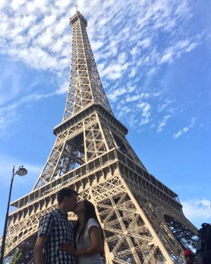 a little kiss from Paris