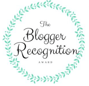 We Received The Blogger Recognition Award!