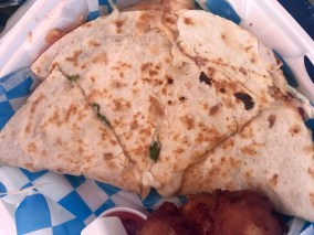 Blackened Scallop Quesadillas