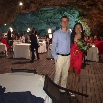 dinner in Italy at one of the most romantic restaurants in the world