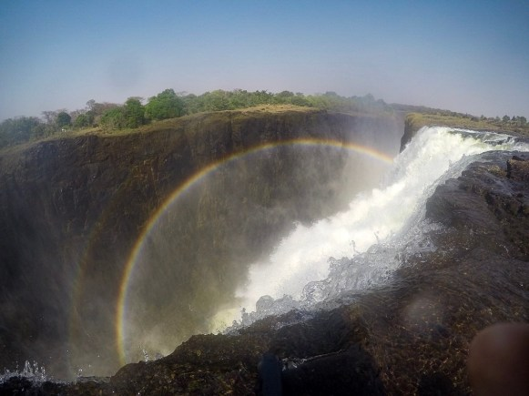 View from Victoria Falls Devil's Pool