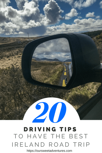 Driving tips TO HAVE THE BEST IRELAND ROAD TRIP
