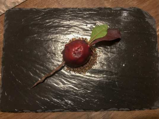 Beetroot at Cedars Grill, Lough Eske Castle Hotel and Spa