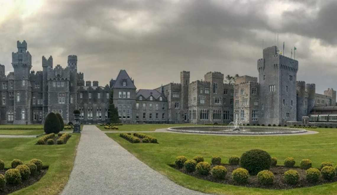 Ashford Castle is not only the most stunning castle in Ireland, but also one of the best hotels in the entire world. If you get the opportunity, staying here or enjoying their luxurious afternoon tea is a must!