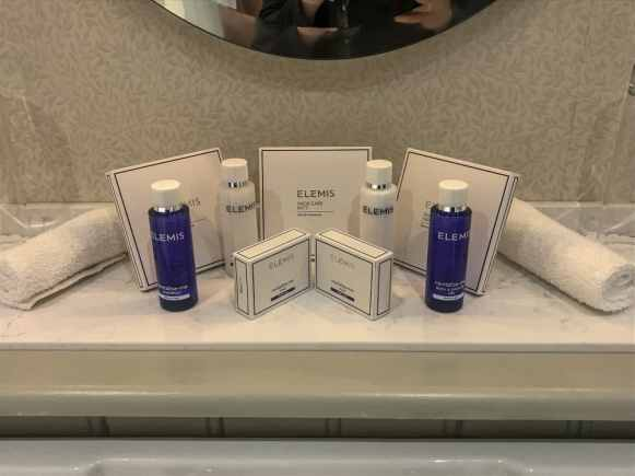 Elemis amenities at Cahernane House Hotel. A boutique hotel in Killarney, Ireland.
