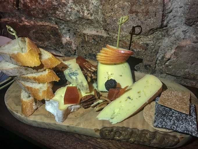 Cheese boar, Cask Cork at Hotel Isaacs Cork - Boutique hotel in Cork