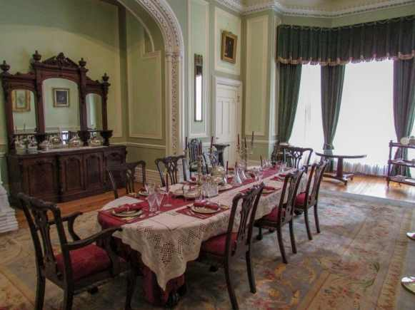 Kylemore Abbey dining room
