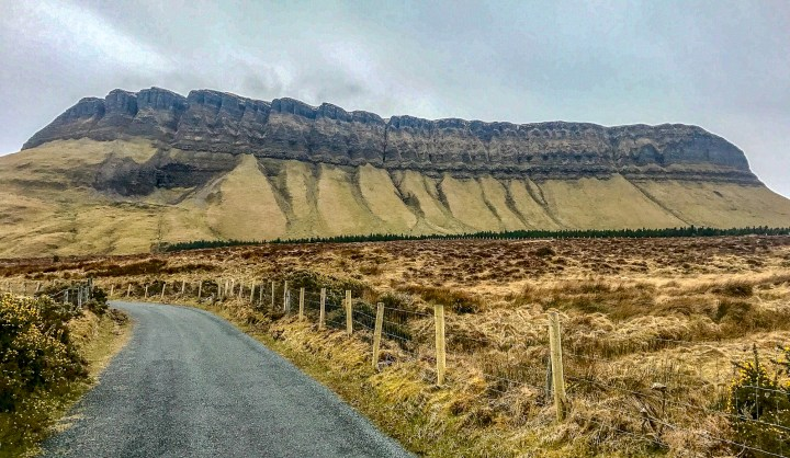 Donegal to Galway - Benbulben