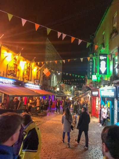 Donegal to Galway - Quay Street