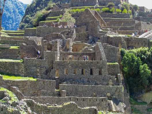 Incredible Inca ruins at Machu Picchu